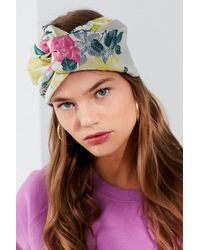 Urban Outfitters - Twist-front Jacquard Headwrap - Lyst