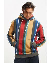 Urban Outfitters - Uo Vertical Stripe Hoodie Sweatshirt - Lyst