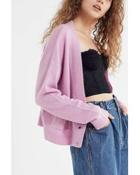 Truly Madly Deeply - Alma Button-front Cardigan - Lyst