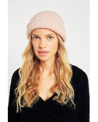 Urban Outfitters - Furry Beanie - Lyst