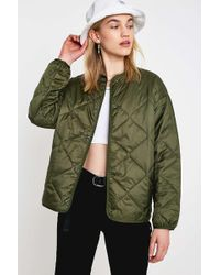 Carhartt WIP - Laxey Khaki Liner Jacket - Womens Xs - Lyst