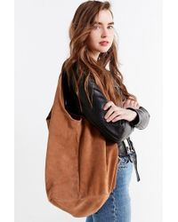 Urban Outfitters - Slouchy Suede Shopper Tote Bag - Lyst