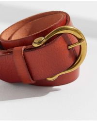 Urban Outfitters - Horseshoe Buckle Belt - Lyst