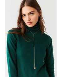 Cloverpost - Tempo Lariat Necklace - Lyst