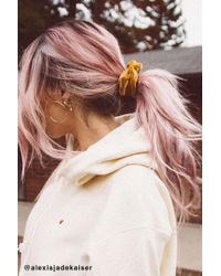 Urban Outfitters - Velvet Hair Scrunchie Set - Lyst