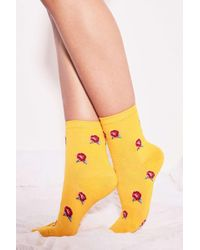 Urban Outfitters - Conversation Crew Socks - Lyst