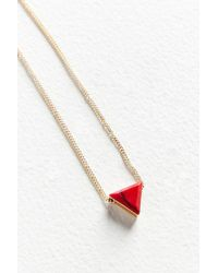Urban Outfitters - Cecilia Delicate Pendant Necklace - Lyst