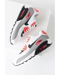 Nike Nike Air Max 90 Colorblock Sneaker in Red Lyst