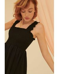 5ecd585208 Lyst - Out From Under Markie Seamless Tube Slip in Black