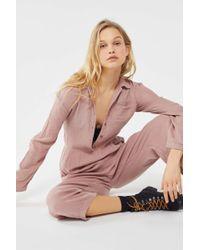 Lacausa - Odessa Button-front Jumpsuit - Lyst