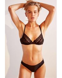 4149f940b645 Urban Outfitters Nina Lasercut Lace-back Thong - Womens L in Green - Lyst