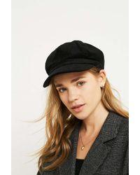 Urban Outfitters - Corduroy Baker Boy Cap - Lyst