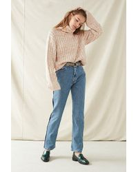 Urban Outfitters - Recycled Side Striped Levi's Jean - Lyst