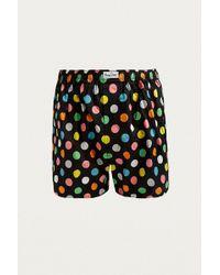 Happy Socks - Polka Dot Woven Boxer Trunks - Lyst