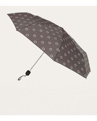 Urban Outfitters - Black Circle Spot Umbrella - Lyst
