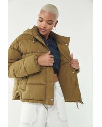 Urban Outfitters - Uo Mae Hooded Puffer Jacket - Lyst
