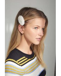 Urban Outfitters - Fuzzy Hair Clip - Lyst