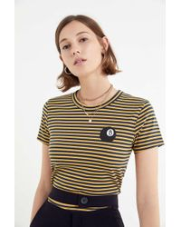 Truly Madly Deeply - Striped Eight-ball Tee - Lyst