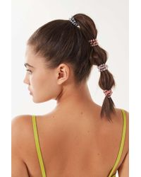Urban Outfitters - Slim Telephone Cord Hair Tie Set - Lyst