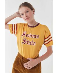 Urban Outfitters - Femme State Tee - Lyst
