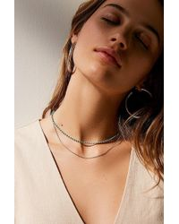 Urban Outfitters - Stevie Delicate Double Necklace - Lyst