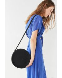 Urban Outfitters - Circle Woven Crossbody Bag - Lyst