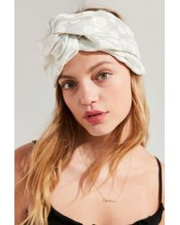 Urban Outfitters | Twist-front Jacquard Headwrap | Lyst
