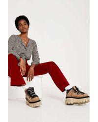BDG - Rust Velvet Corduroy Trousers - Lyst