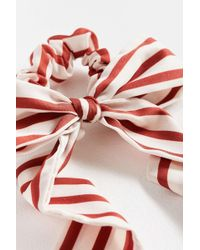 Urban Outfitters - Darling Draped Bow Scrunchie - Lyst