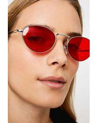 0d4767851fbab Quay Capricorn Square Sunglasses in Brown - Lyst