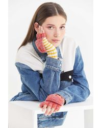 Urban Outfitters - Sporty Stripe Convertible Glove - Lyst