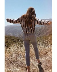 Urban Outfitters - Uo Striped Yarn Sweater - Lyst