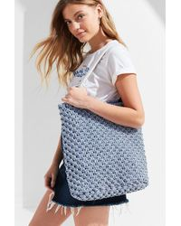 Urban Outfitters - Rope Macramé Tote Bag - Lyst
