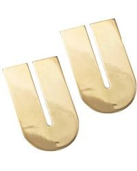 Uncommon Matters | Tuck Earrings Gold Plated | Lyst