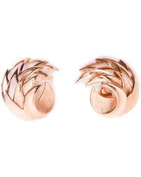 Rarities - Gold Trifari Earrings - Lyst