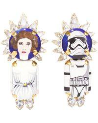 Bijoux De Famille - Leila & Storm Trooper Earrings - Lyst
