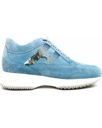 Hogan - Panelled Sneakers - Lyst