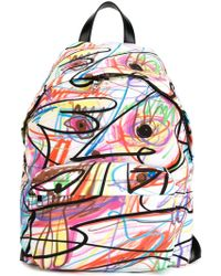 Jeremy Scott - Scribbled Backpack - Lyst