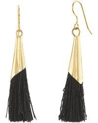 Velvet By Graham & Spencer - Classic Tassel Earrings By Sloan - Lyst