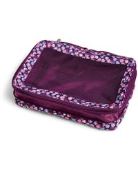 Vera Bradley - Large Expandable Packing Cube - Lyst