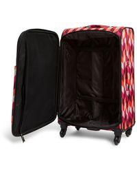 """Vera Bradley   27"""" Printed Spinner Suitcase   Lyst"""