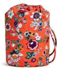 Lyst - Vera Bradley Iconic Ditty Bag (wildflower Paisley) Bags 631c02af02bd1