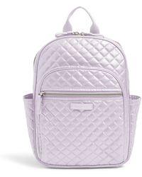 c7cc407a7 Vera Bradley Leighton Backpack - Lyst