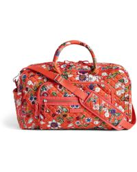 Vera Bradley Iconic Compact Weekender Travel Bag Lyst