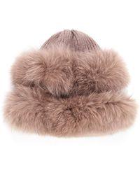 Veronica Beard - Jackson Knit Hat Glamourpuss - Lyst