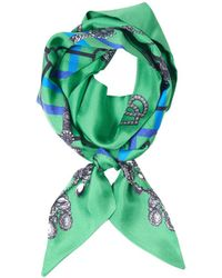 Veronica Beard - Helen Silk Twill Scarf St. Piece London - Lyst