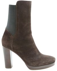 Vanessa Bruno - Brown Suede Ankle Boots - Lyst