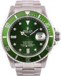 Rolex - Vintage Submariner Green Steel Watches - Lyst