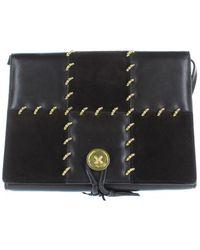 9b9953dae8e8 Ferragamo - Leather Crossbody Bag - Lyst