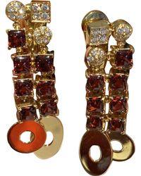 BVLGARI - Yellow Gold Earrings - Lyst
